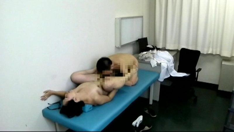 とある盗撮マニアが千葉南房○某病院夜勤看護婦と医師のSEX映像流出させた キャプチャー画像 5枚目