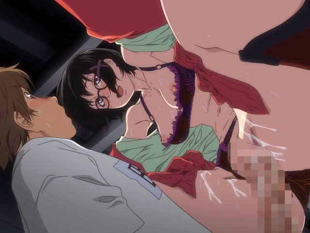 【エロアニメ】誘惑に弱い男子生徒が次々に甘い誘いに負けてSEX三昧
