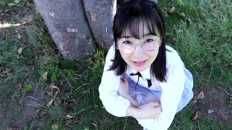 「メガネ外したら清涼美少女、恥じらいデビュー!/藤森朱音」無修正