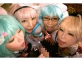 Orgy Off Pies Cosplayers Board Otoha Nanase Nagomi Mana preview-12