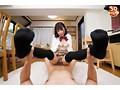 【VR】ニーハイ制服姿の妹が見せつける絶対領域にフル勃起!...sample11