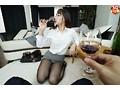 【VR】いつもは高飛車な女上司はほろ酔い状態になるとパンス...sample4