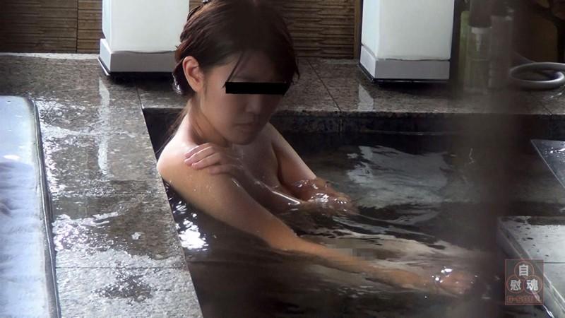 盗撮 貸切風呂オナニー vol.1 4