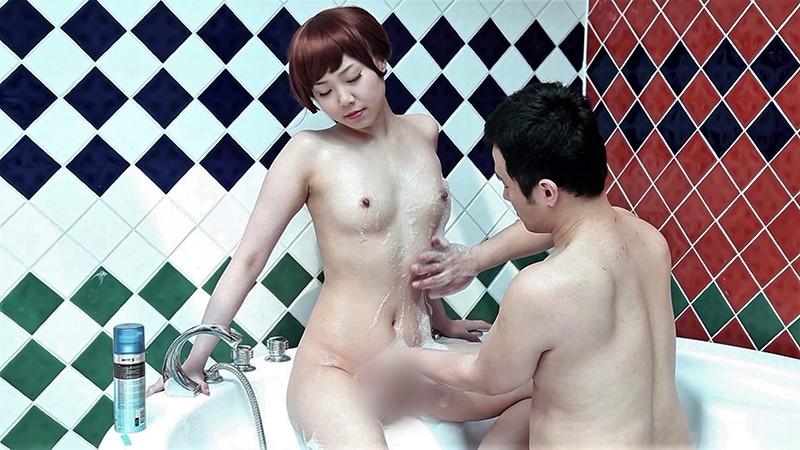 刺激快感エクストリーム#02 赤いロープで緊縛されたM女/泡マッサージと剃毛プレイ 画像12