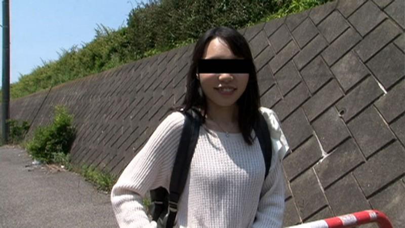 フェラ散歩 SNSで知り合ったひとみちゃん 21歳 画像1