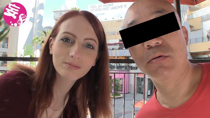 ロスでナンパした超美乳な人妻が恥ずかしがり屋の常識人なのにフェラテク最高のヘンタイ女だった アレックス(24歳)