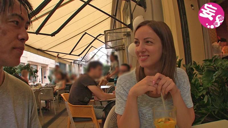 ブダペストでガチナンパ!Lilit(20)エッチなウクライナ女子を捕まえたのでいっぱい日本人のチ●コで気持ちよくさせちゃいました!! 1枚目