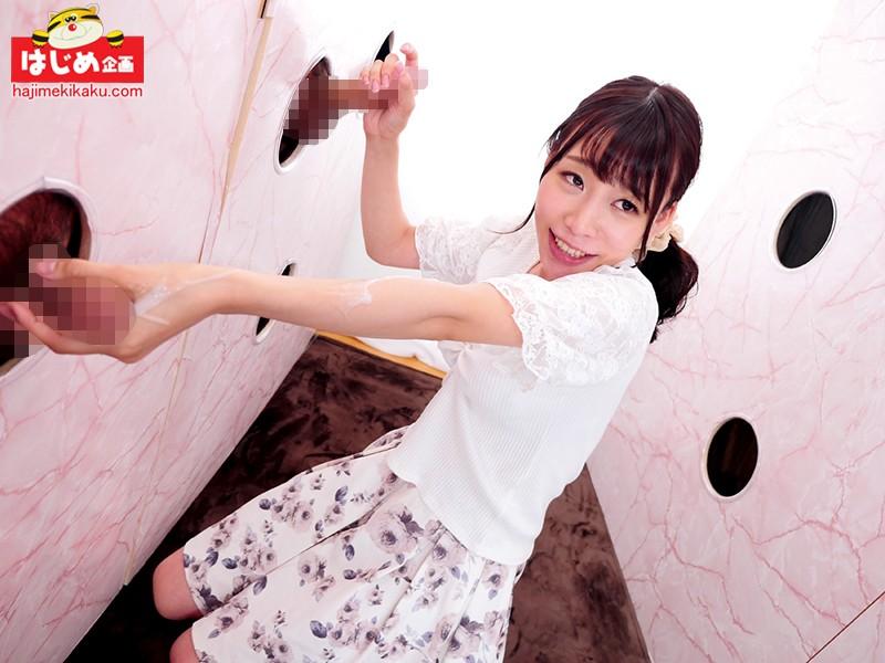 壁から飛び出る生チ●ポ10本早抜きチャレンジ!! 2枚目