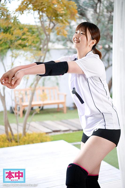 全国大会常連だったむっちり太もも8頭身デカ尻元・女子バレーボール選手のエースが初めてのナマ中出し 木村詩織