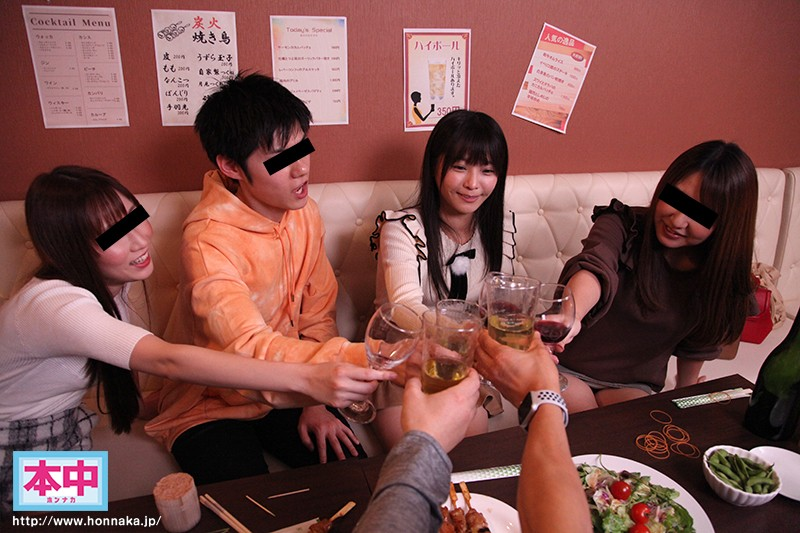 あの日、大学の飲み会が中出し輪●サークルに変わった。新歓コンパ編 久留木玲