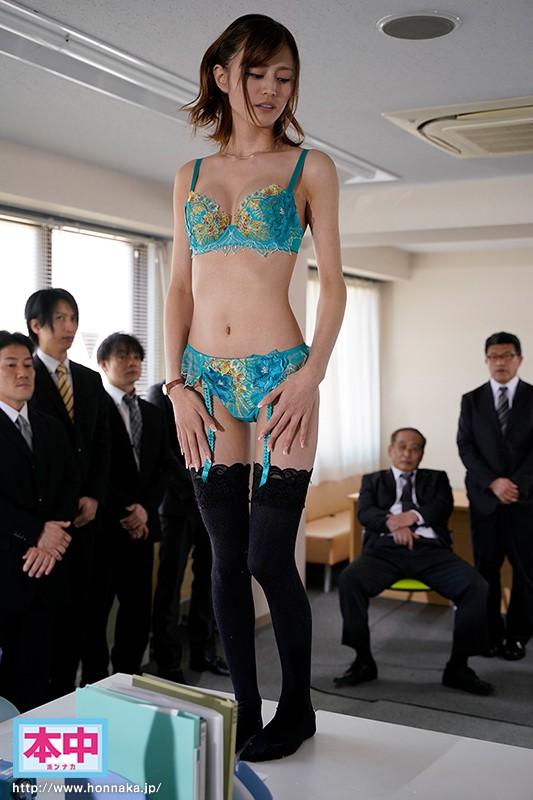 やっとの思いで就職できた下着メーカーなのに、社員全員にセクハラされ、輪●された新卒女子中出しレ×プ 三咲美憂 2