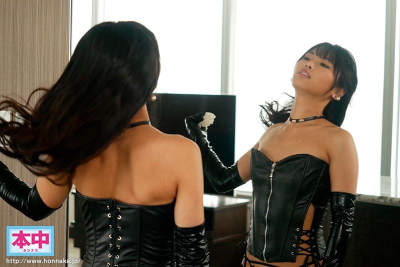 M男拘束・逆種付けマーキング 孕むまで中出しするボンテージ痴女お姉さん 久留木玲1