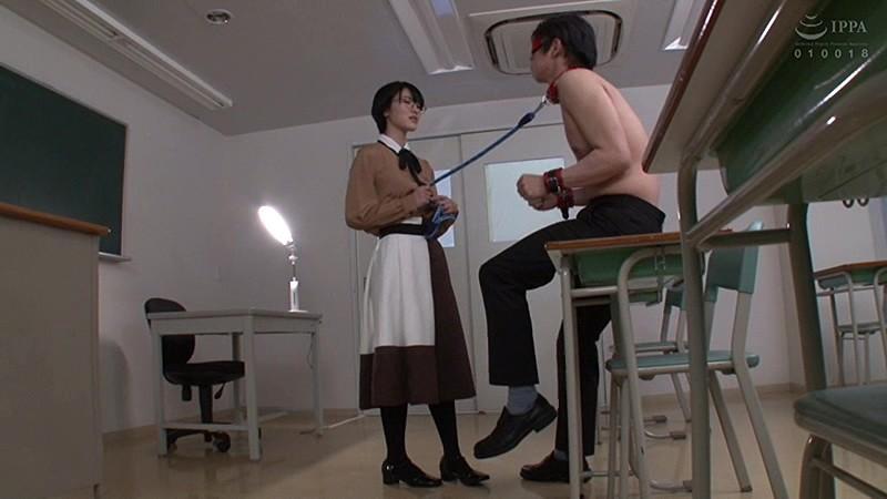 中年のおじさま好きな文系美女に学内監禁されて ねっとりと痴女られる 東条蒼 15枚目