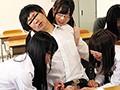 インテリヤリマン女子たちに教室で喰われまくりの学園生活!...sample9