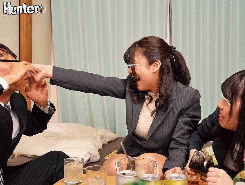『まだまだ寝かせないからね!』酔ってエロくなった二人の巨乳女上司にダブル巨乳サンド&ダブル杭打ちピストンされて朝までSEXやりまくり!! 2