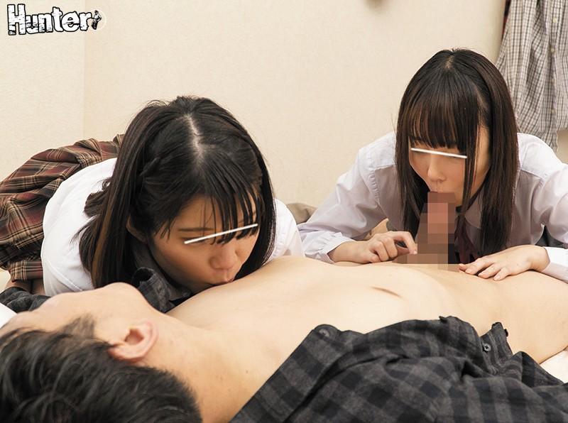「お兄ちゃん、おちん○ん見せて!」年下の幼馴染が女友達を連れてきてボクでち○ちん研究!精子が見たいと言って覚えたてのフェラをしてきて…更に…