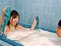 『一緒にお風呂入ろう』『水着を着て泡風呂にするから恥ずかしくないでしょ!』巨乳義妹と自宅の狭い風呂で泡風呂!でも結局水着からポロリしまくり…