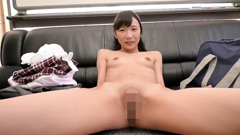 AV面接に来た高校卒業したての看護師を目指すつるぺたロリ体型の女の子 森川さん18歳 キャプチャー画像 5枚目