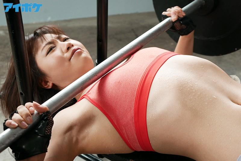 バッキバキ筋肉アスリートBODY現役スポーツキャスター ビックビク大痙攣絶頂 島永彩生 画像3