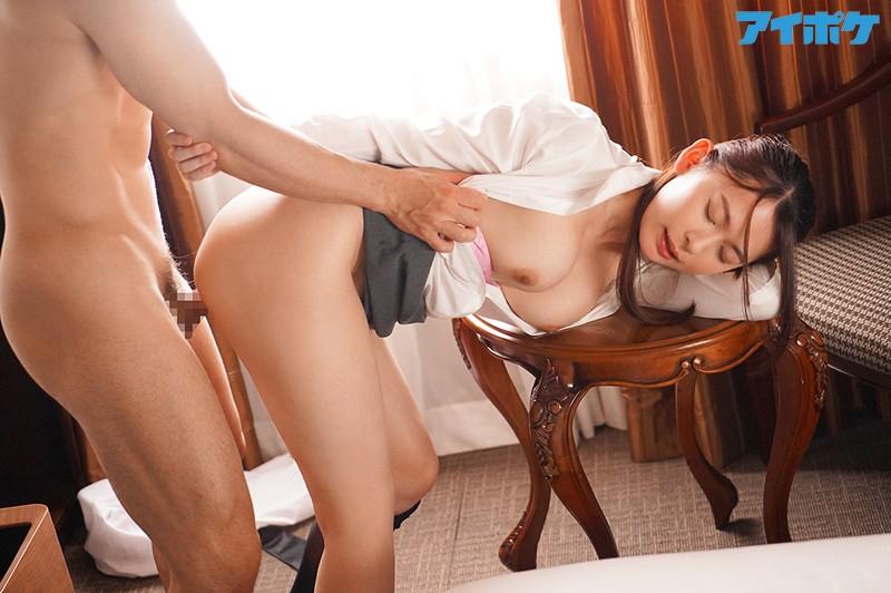 出張先相部屋NTR 絶倫の上司に一晩中何度もイカされ続けた巨乳女子社員 梓ヒカリ 画像12