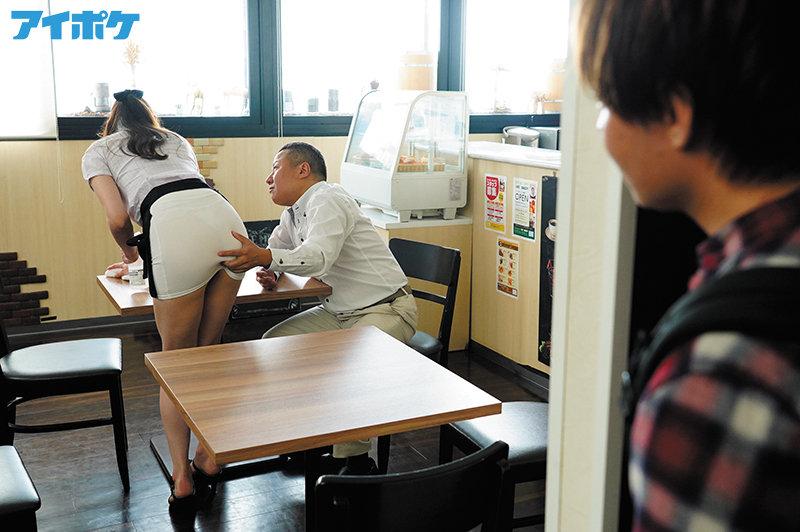 バイト先のセクシー美女が大嫌いな店長の指示で際どいミニスカを穿かされセクハラ挿入快楽堕ちしていた。 ≪嫉妬勃起≫ 白峰ミウ 2