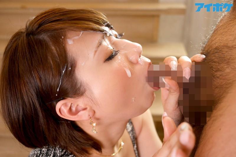 【スレンダー】 衝動的な性欲を抑えきれない美女の性交! 初顔射初3P解禁! 森咲みちる キャプチャー画像 2枚目