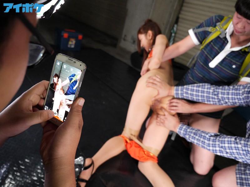 【ぶっかけ】 ハメられた新人美女RQ 断り切れず枕営業を虐げられる美裸体 輝月あんり キャプチャー画像 5枚目