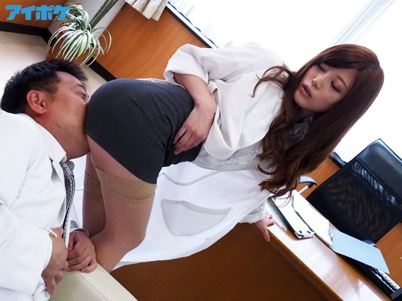 タイトスカート 痴女医の淫らな誘惑 榊梨々亜 画像10