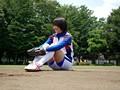 巨乳の野球女子アスリートが興味津々でAV出演!忘れられない...sample2