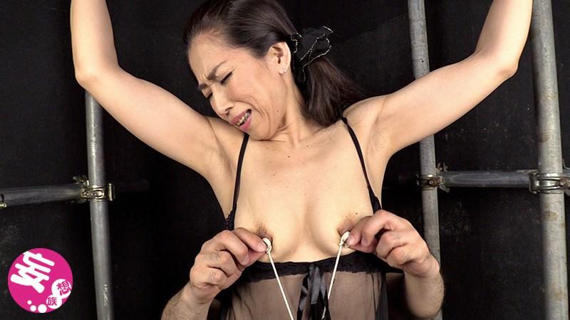 伸びる長乳首熟女 玲香 52歳 尾野玲香 1枚目