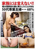家族には言えない!! 極太硬野菜を膣に挿入したことがある50代専業主婦… 68% ダウンロード