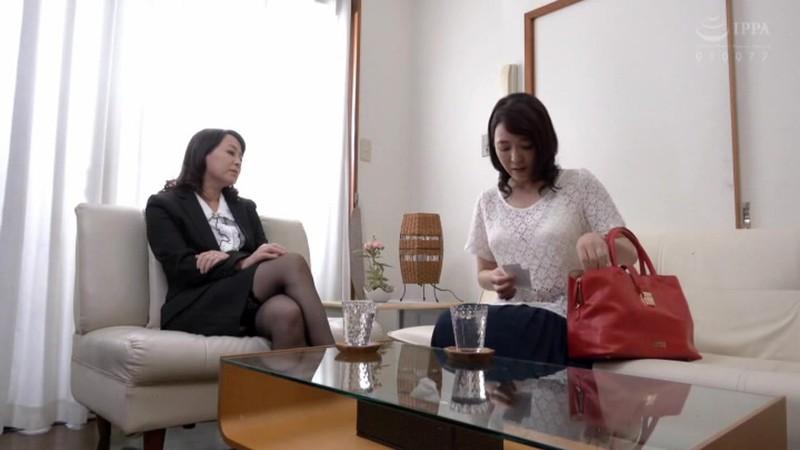 熟女レズ スナックのママとビルのオーナー あなた、お家賃が払えないの? 矢田紀子 水上由紀恵 画像1