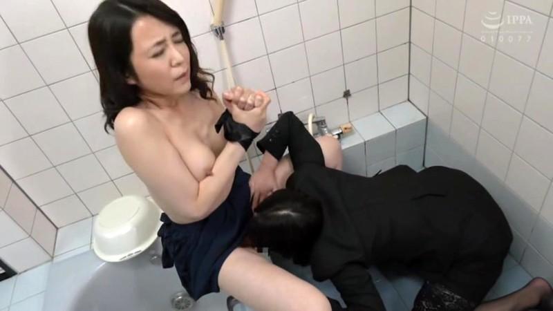熟女レズ スナックのママとビルのオーナー あなた、お家賃が払えないの? 矢田紀子 水上由紀恵 画像2