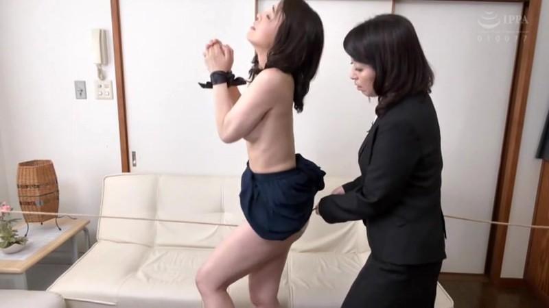 熟女レズ スナックのママとビルのオーナー あなた、お家賃が払えないの? 矢田紀子 水上由紀恵 画像3
