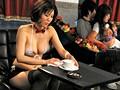 人妻の恥ずかしいお仕事 〜カップル喫茶で働く美乳嫁〜 森ななこsample1
