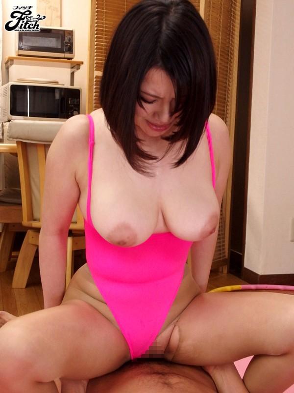 【巨乳フェチ】 無防備な胸チラで誘惑する爆乳妻の濃厚なパイズリ 岸杏南 キャプチャー画像 10枚目