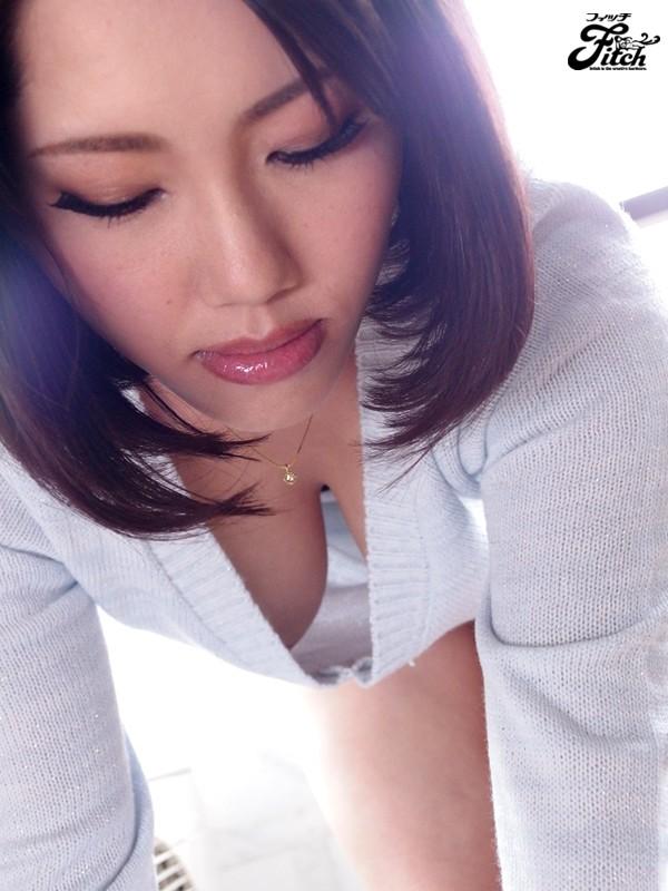 【巨乳フェチ】 無防備な胸チラで誘惑する爆乳妻の濃厚なパイズリ 岸杏南 キャプチャー画像 12枚目