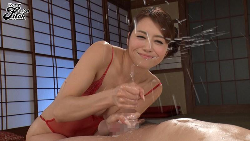 じっくり高める手コキでもてなす完全勃起ともの凄い射精の回春旅館 北条麻妃 画像9