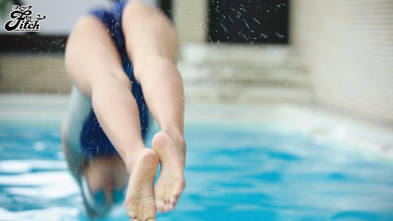 競泳歴17年!華々しい受賞歴を持つ21歳の肉体美 長身美人 競泳アスリートAVデビュー 寺川彩音 画像1