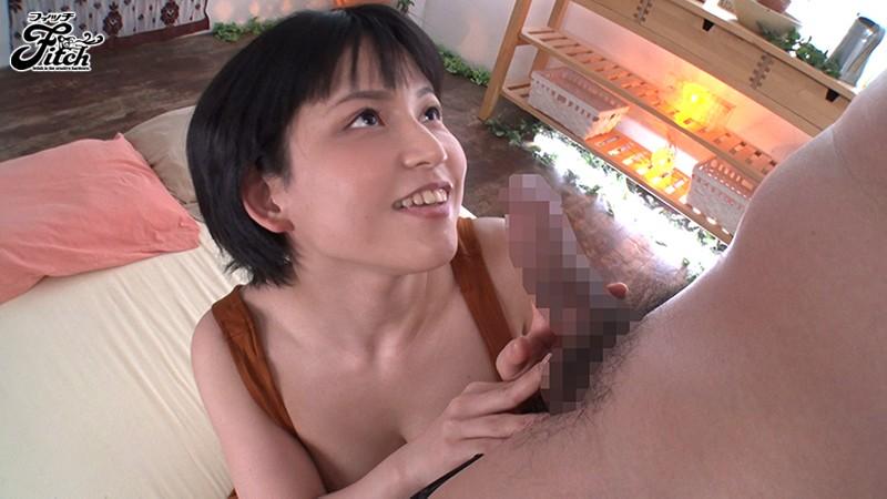 ボーイッシュ美少女着エロアイドルあみちゃん AV解禁!! むっちりFcupボディでデカマラ喰い3本番 画像3