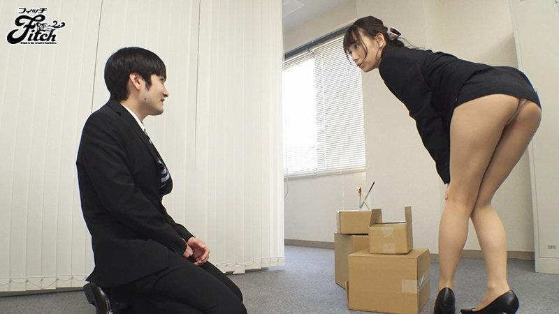 あざといお口で何が悪いの?オフィス内の男性社員と天然誘惑セックス! 初川みなみ キャプチャー画像 1枚目