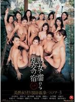 熟女も濡れる乱交の宿 美熟女と行く混浴温泉バスツアー 3