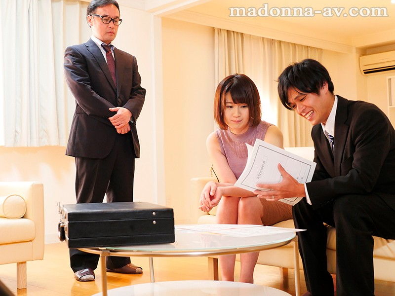 JUL-063 Studio Madonna - Newlywed Cuckolding - A Young Wife Gets Fucked By Another Guy - Exclusive Actress Does Her First Adultery Creampie Video - Yukino Oshiro - big image 1