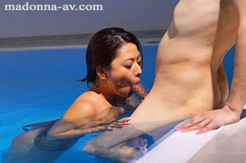 JUL-115 Studio Madonna - Married Women Get Fucked By Their Swimming Instructor - Spied On And Ravaged During Training - Kaho Imai big image 7