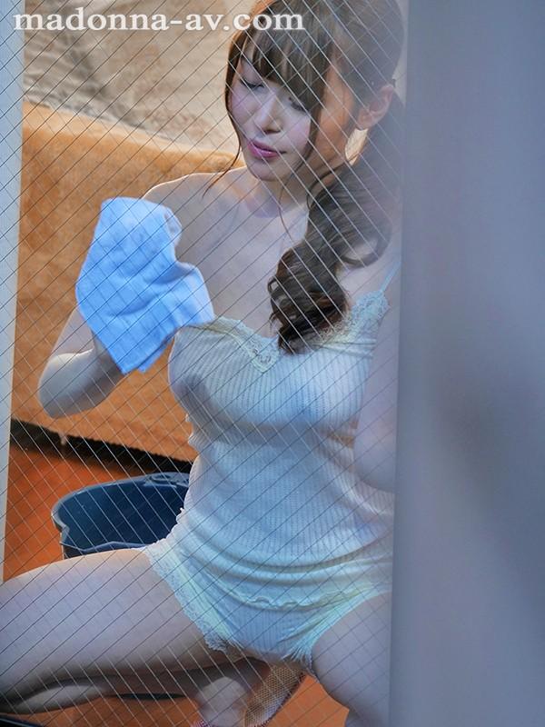 Hカップ美女電撃専属第一弾!! 向かい部屋の人妻 今井ひまり 1枚目