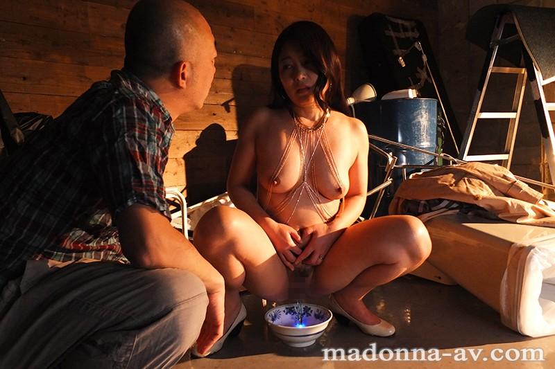 夫の上司に飾られた 人妻ボディアクセサリー 一色桃子