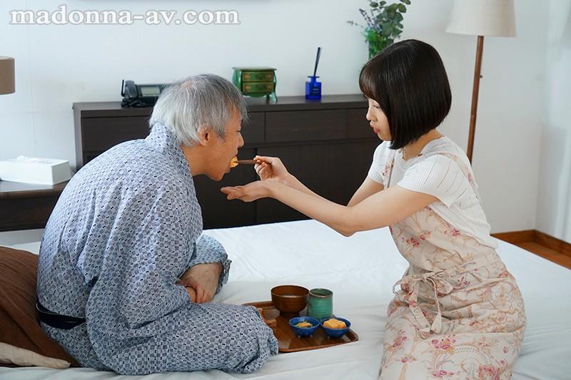 中年オヤジに乳首だけで何度も絶頂する早漏体質にさせられた介護人妻 天然かのん 1