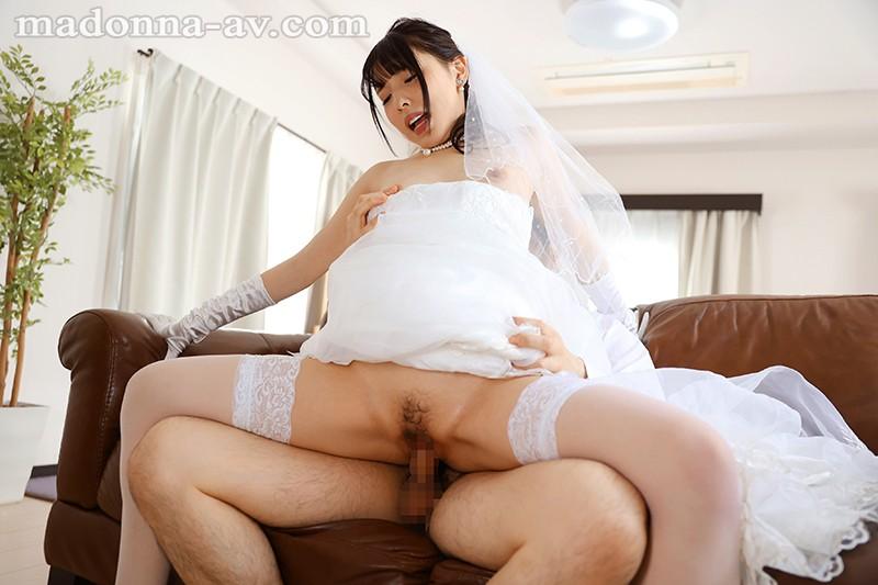 【エロ動画】可愛い妹が人妻になるので中出しセックスした 【白桃はな】