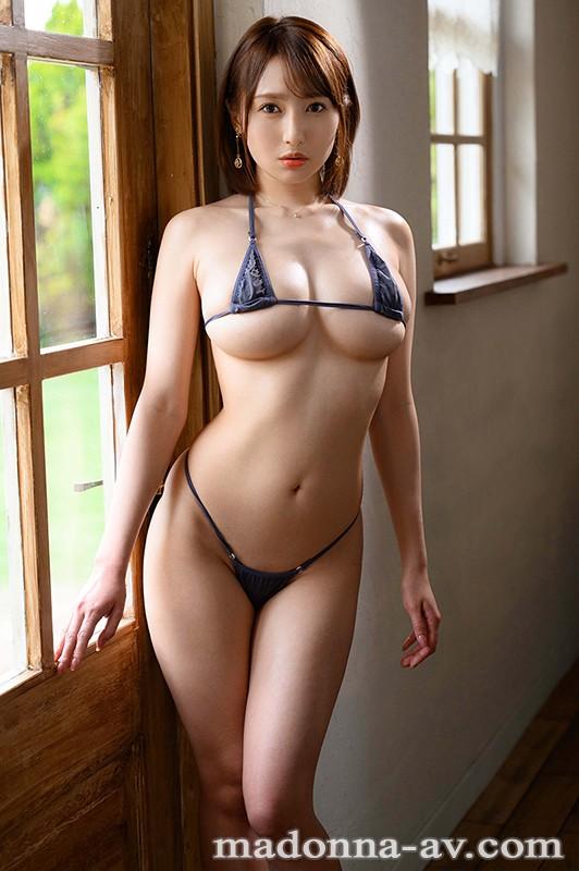 タレントの卵から、美しい人妻へ―。 大型新人 Madonna専属デビュー 岸えま 28歳 AV解禁 キャプチャー画像 1枚目