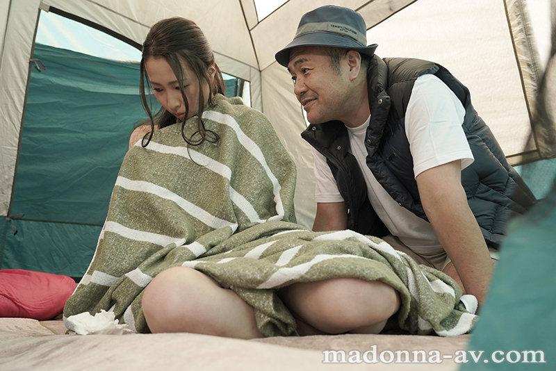 町内キャンプNTR テント内で何度も中出しされた妻の衝撃的寝取られ映像 三尾めぐ 画像4